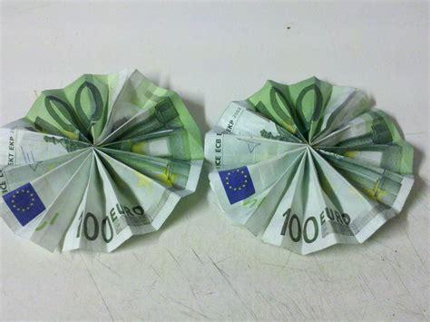 sonne aus geldschein falten origami mit geldscheinen