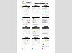 Calendario Laboral Álava 2018