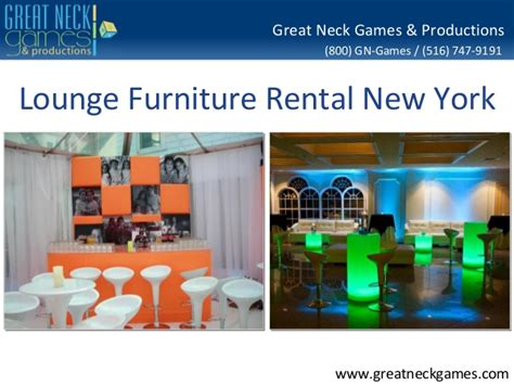 lounge furniture rental nyc event specialists serving