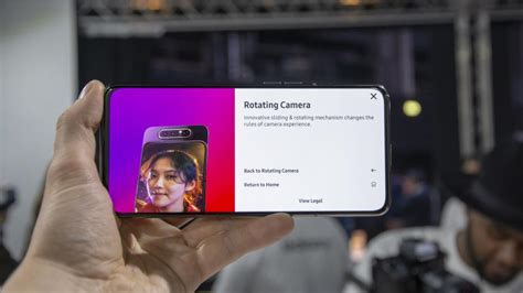 samsung galaxy a80 on review the rotating takes world class selfies