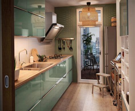 Country Kitchen Ideas - zielona nowowczesna kuchnia ikea zdjęcie w serwisie lovingit pl 51957