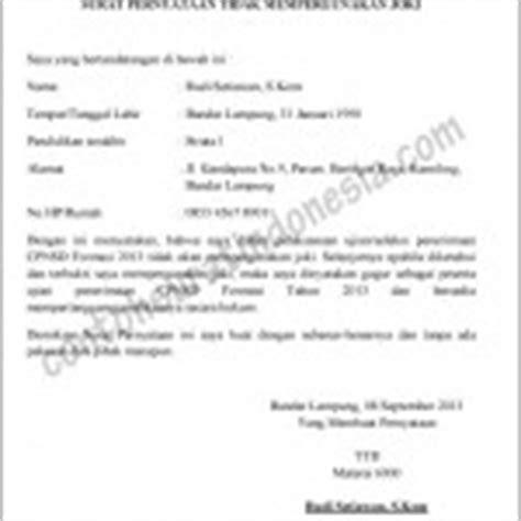 contoh surat keterangan magang kerja  perusahaan