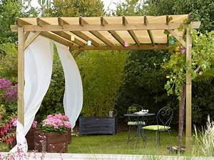 awesome tole pour pergola pictures awesome interior home With toile pour tonnelle de jardin