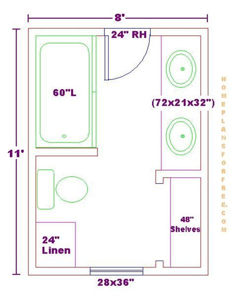 bathroom floor plans small modify this one 8x11 bathroom floor plan with bowl