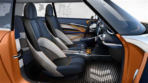 mini vision concept interior  rendering car body design