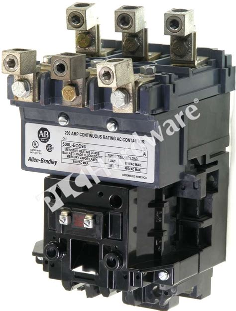 allen bradley 500l eod93 a nema ac contactor lighting top