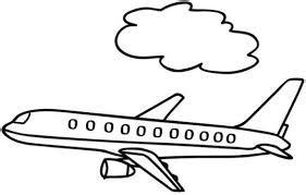 dibujos de medios de transportes aereos  pintar aviones  colorear colorear imagenes