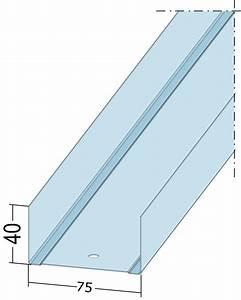 U Profil Trockenbau Maße : uw 75 profile wandprofile uw75 l nge 2600 mm ~ A.2002-acura-tl-radio.info Haus und Dekorationen