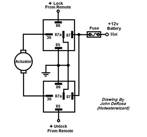 Volt Linear Actuator Wiring Diagram