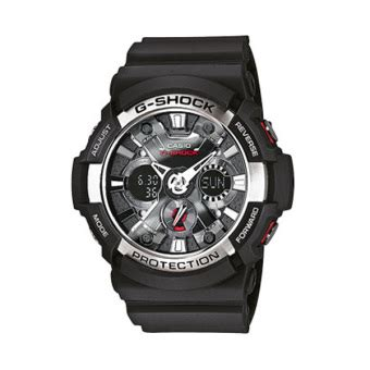 casio g shock ga 200 1 black lazada ph