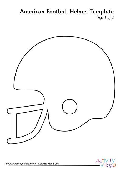 football helmet template american football helmet template