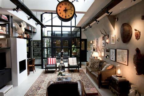 transformer garage en cuisine loft aux touches très masculines à amsterdam vivons maison