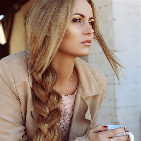 Beautiful Hair by The Most Beautiful Hair Styles For Winter