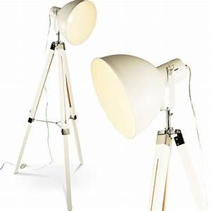 Stehlampe Retro Design : tripod dreifu stehlampe tischleuchte industrial retro design stehleuchte h henverstellbar mq ~ Bigdaddyawards.com Haus und Dekorationen