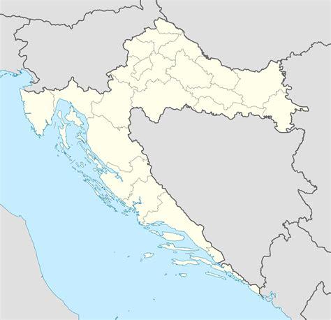 Carte De Avec Region Vierge by Carte Croatie Vierge R 233 Gions Carte Vierge Des R 233 Gions De