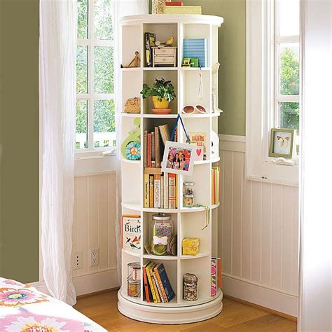 Spacesaving Revolving Bookcase