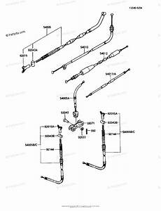 Kawasaki Atv 1986 Oem Parts Diagram For Cables