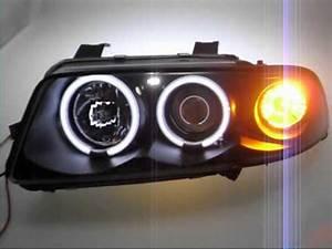 A4 B5 Scheinwerfer : ccfl angel eye scheinwerfer audi a4 b5 black by sw tuning ~ Kayakingforconservation.com Haus und Dekorationen