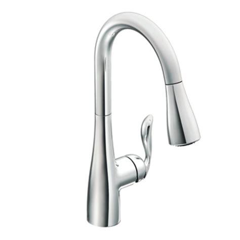 moen single handle pullout kitchen faucet repair moen 7594c arbor one handle high arc pulldown kitchen