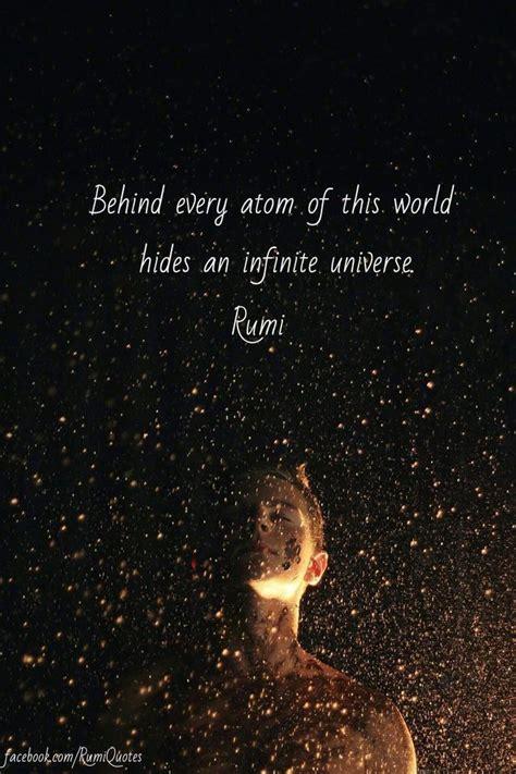 atom   world hides  infinite universe