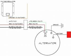 Ford 8n 3 Wire Alternator Wiring Diagram