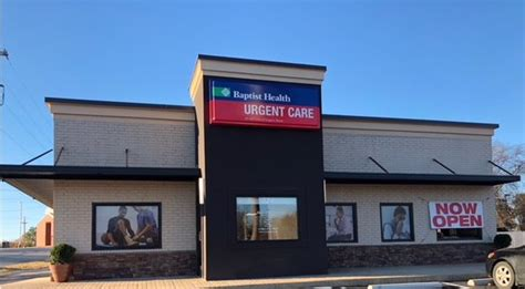 baptist health urgent care benton ar  military