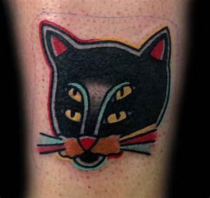 Cat Tattoo by tattoosbydanh on DeviantArt