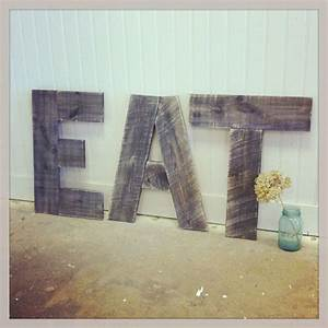 pinterest discover and save creative ideas With vintage eat letters