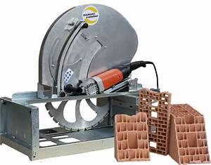 Scie Sur Table Evolution : scie sur table stm600 pour brique monomur ~ Melissatoandfro.com Idées de Décoration