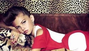 Thylane Blondeau, controversial child model, stars on ...