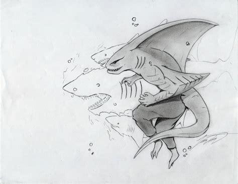 shark drawings art ideas sketches design trends
