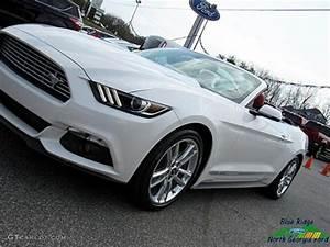2017 White Platinum Ford Mustang EcoBoost Premium Convertible #119354793 Photo #30   GTCarLot ...