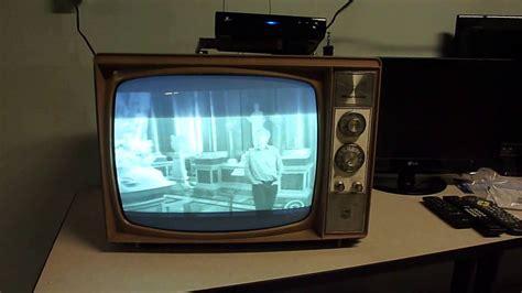 magnovox   black  white tv youtube