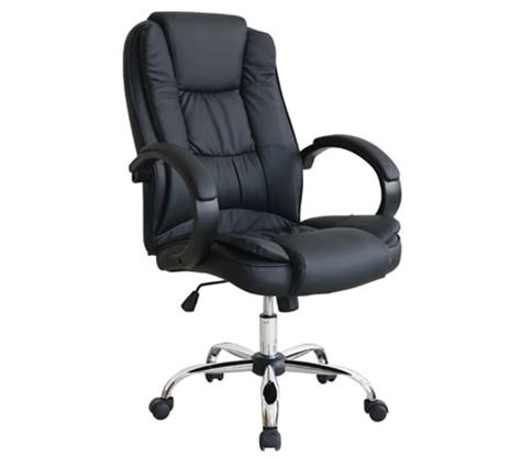 high back adjustable pu leather executive office chair