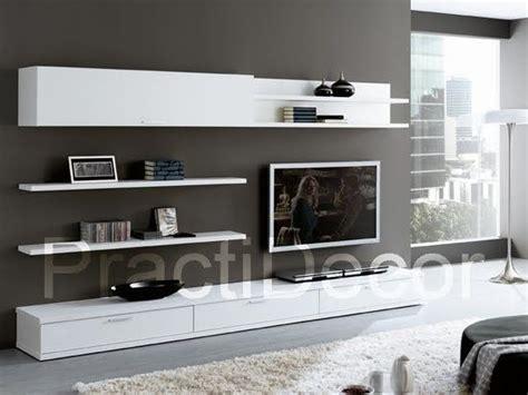 ideas de modelos de amoblamientos modulares  sala tv