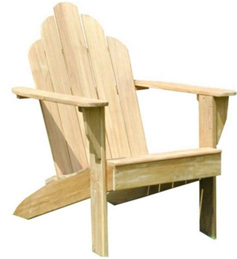 new teak wood adirondack chair