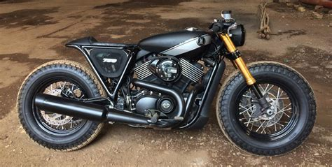 Custom Street 750 From Rajputana Customs