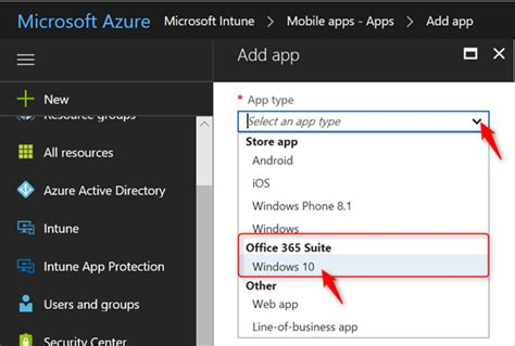 Office 365 Intune by Deploy Office 365 With Microsoft Intune To Mdm Enrolled
