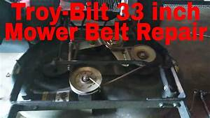 31 Troy Bilt Lawn Mower Belt Diagram