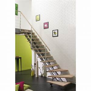 Escalier En Colimaçon Pas Cher : escalier quart tournant escatwin structure aluminium ~ Premium-room.com Idées de Décoration