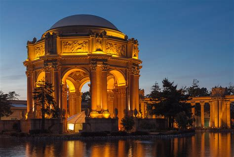 Los Angeles At Night Wallpaper Palace Of Fine Arts Future Home Of San Francisco Museum Curbed Sf