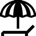 sonnenschirm und liegestuhl download der kostenlosen icons With französischer balkon mit sonnenschirm icon