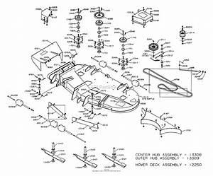 Dixon Ztr 8026d  2001  Parts Diagram For Mower Deck 60 U0026quot