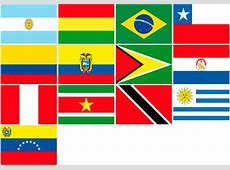 South America Flags for Sale