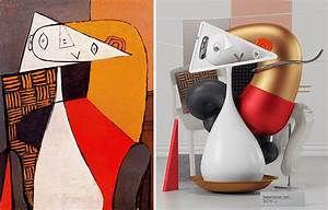 7 Pablo Picasso Paintings Recreated As 3D Sculptures Bored Panda