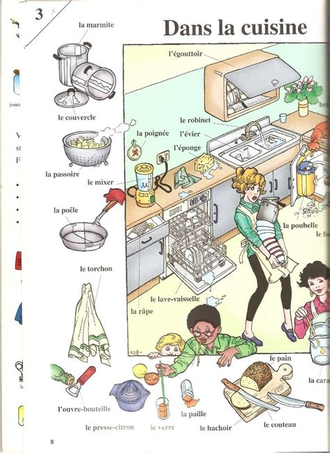 le vocabulaire de la cuisine 149 best vocabulaire logement images on vocabulary japanese phrases and languages