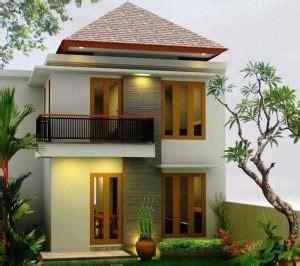 rumah minimalis  lantai  layak dijadikan inspirasi