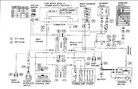 91 240sx Fuel Wiring Diagram by Car Does Not Start 1993 300zx Security Lights Comes On
