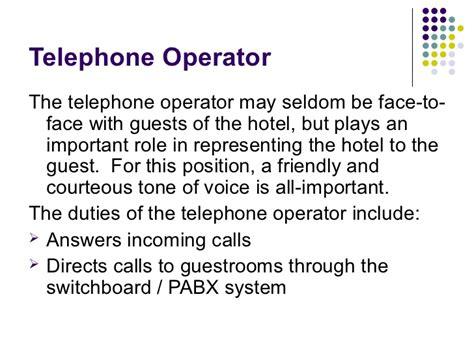 Telephone Operator Description Duties telephone operator duties driverlayer search engine