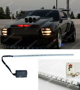 Red Led Waterproof Knight Rider Light Scanner